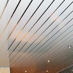 Как установить реечный потолок в ванне