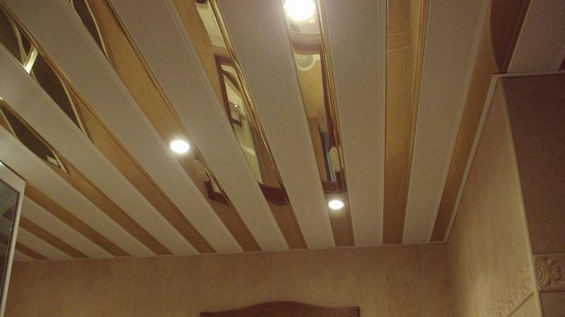 Делаем реечный потолок самостоятельно