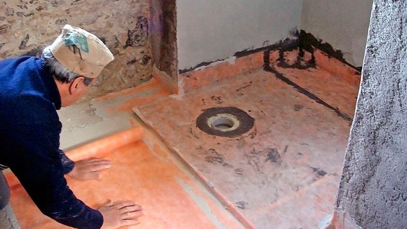 Гидроизоляция деревянного пола в ванной