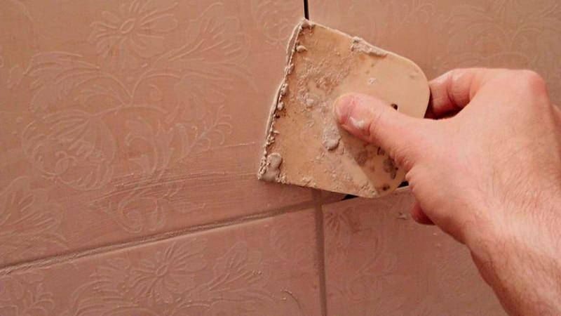 Как правильно затереть плитку в ванной