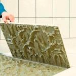 Клей для керамичской плитки в ванную комнату