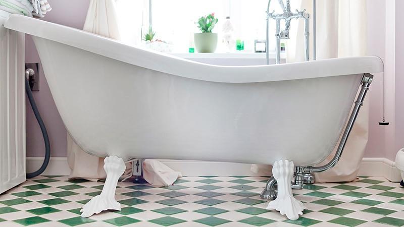 Ножки для стальной и чугунной ванны