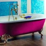 Чугунная ванна в ванную комнату на ножках