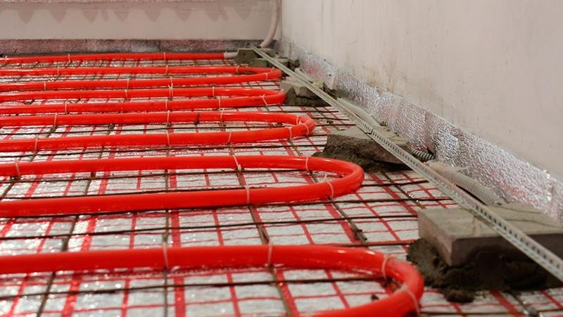 Толщина стяжки для водяного пола