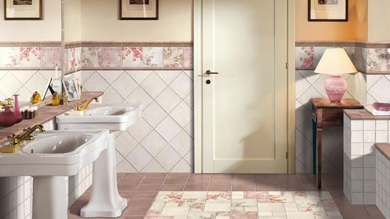 как красиво положить плитку в ванной фото