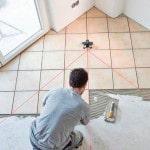 Вариант укладки плитки на полу
