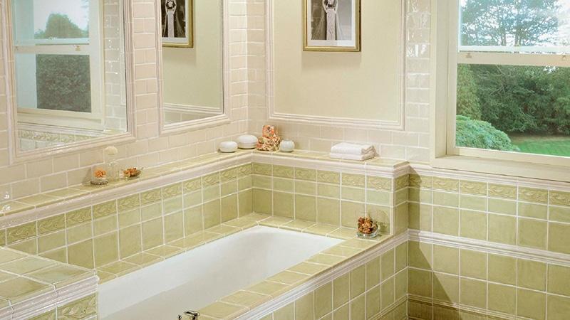 Варинат укладки плитки в ванной