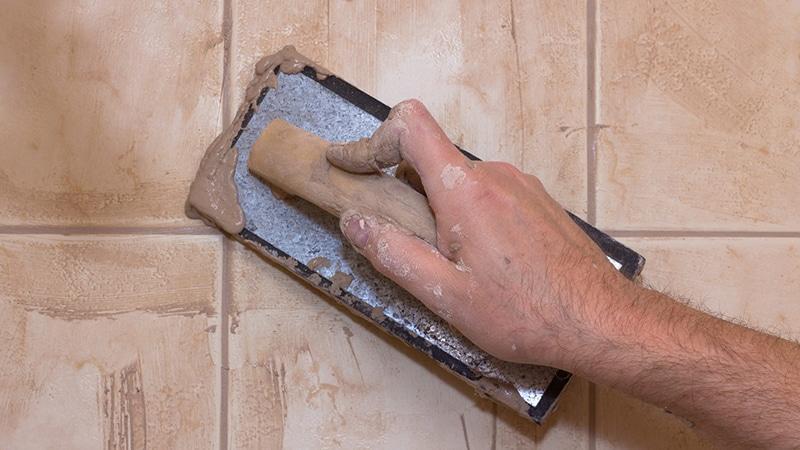 Затирка для плитки в ванной комнате