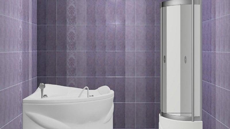 3d кафель в дизайне ванных комнат