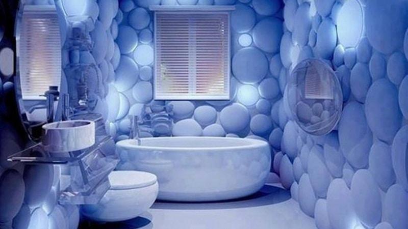 Облицовка ванной комнаты плиткой