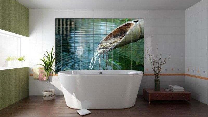 Плитка 3d для ванной комнаты