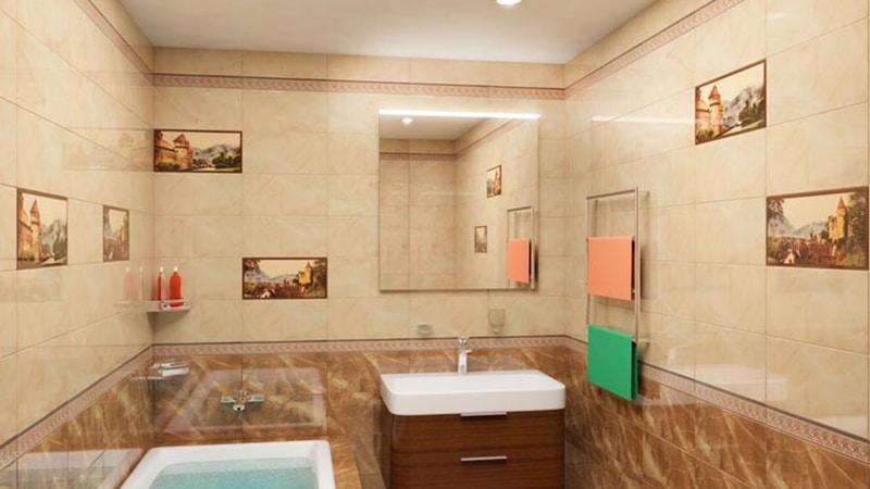 Белорусская плитка для ванной