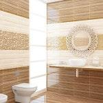Монохромное решение интерьера ванной