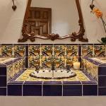 Цветная плитка в средиземноморском стиле