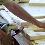 Деревянная столешница для ванной своими руками