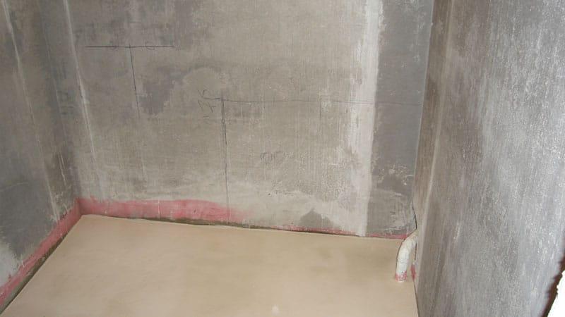Стадии ремонта ванной комнаты и туалета