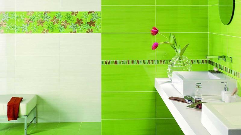 Облицовка ванной комнаты кафелем