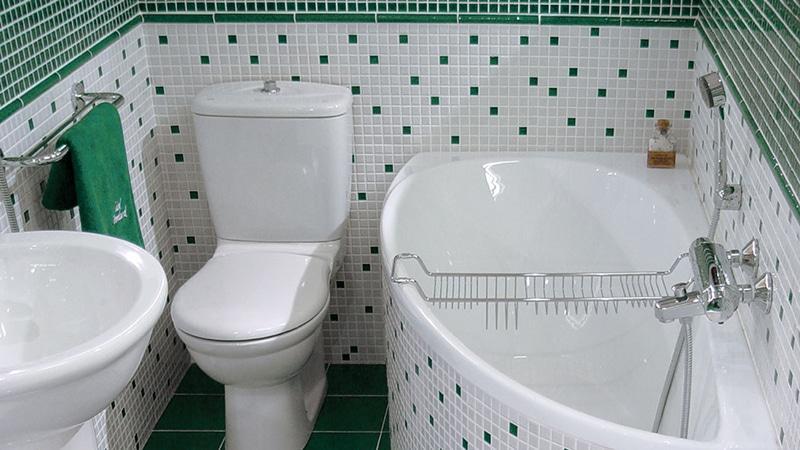 Оформление ванных комнат небольшого размера