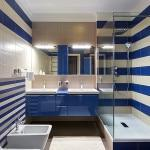 Комбинации керамической плитки для ванной