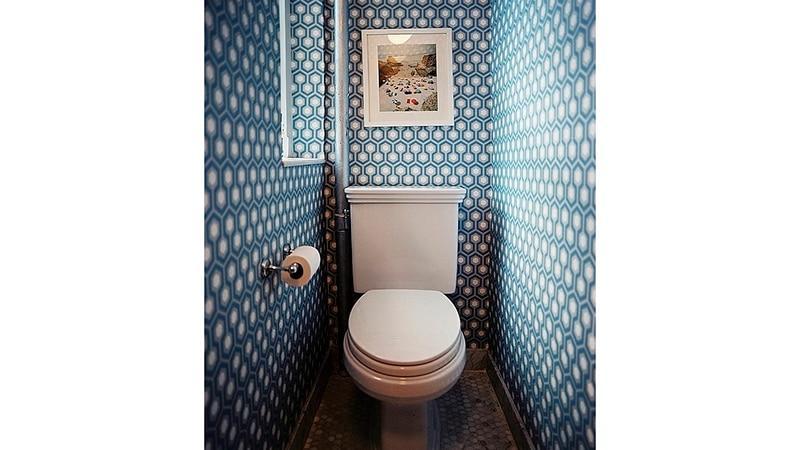 Оформление туалета - стильный дизайн