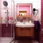 Красовый дизайн ванной комнаты