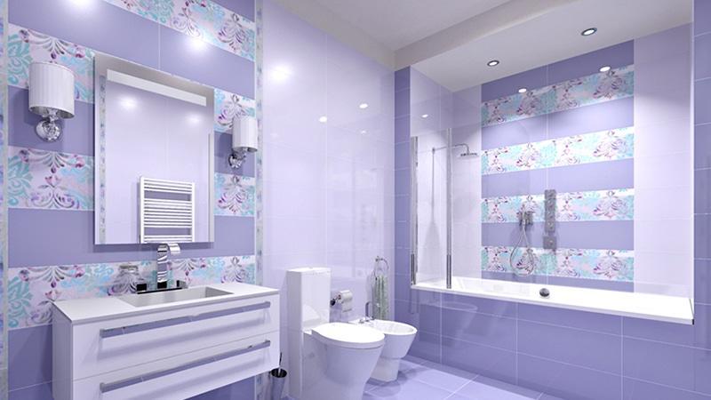 Нежный кунилингус в ванной