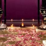 Фиолетовая плитка в восточном стиле