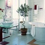 Ремонт маленькой ванны и туалета фото