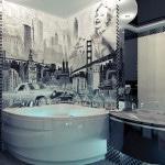 Идея для ванной комнаты