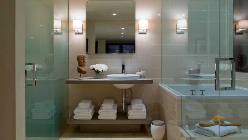 Оригинальная идея для ванной комнаты