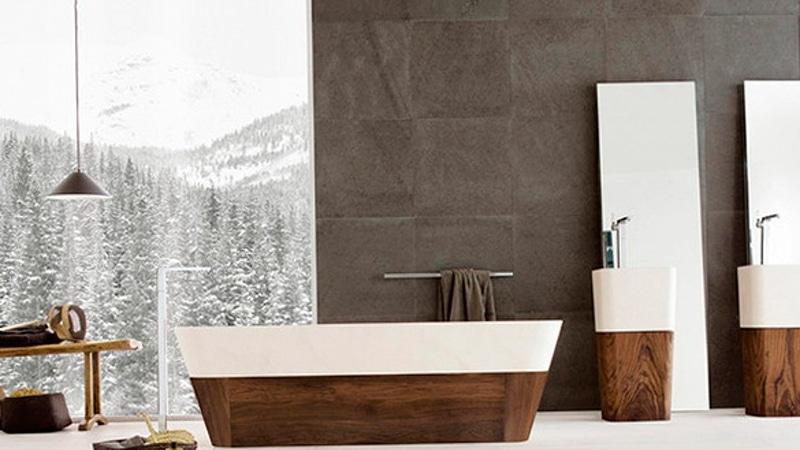 Идея дизайна для ванной комнаты