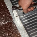 Фиксирование инфракрасной пленки к полу
