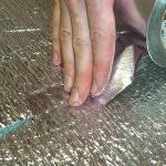 Укладка подложки под инфракрасный пол