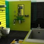 Вариант оформления ванны с туалетом