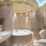 Интерьеры стильных ванных комнат