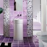 Стильный интерьер ванной комнаты