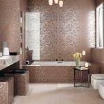 Итальянская плитка в ванной