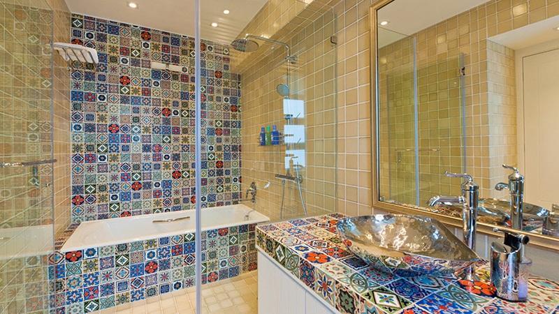 Дизайн кафеля в ванной