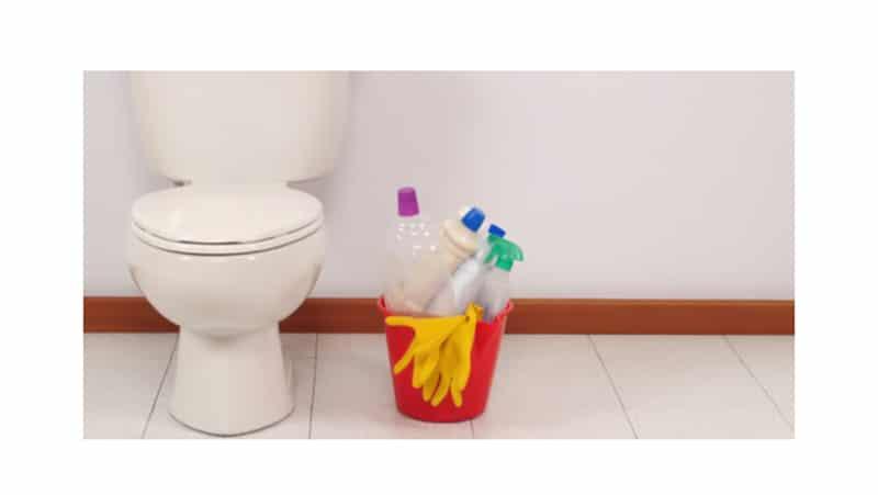Как очистить унитаз от налета