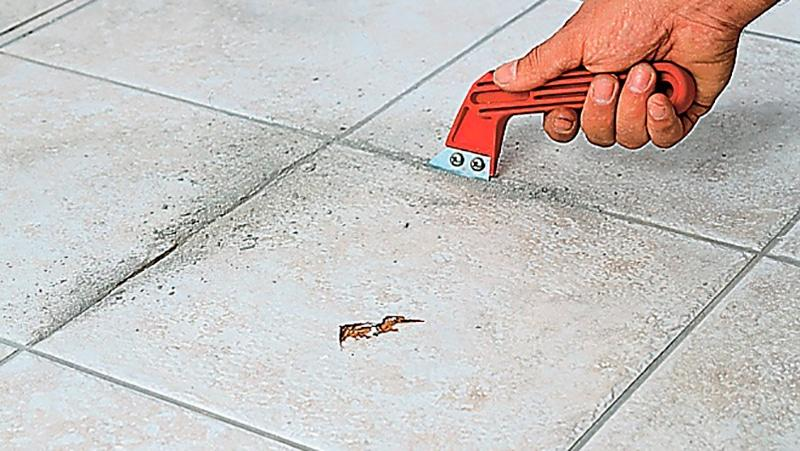 Как почистить швы на плитке