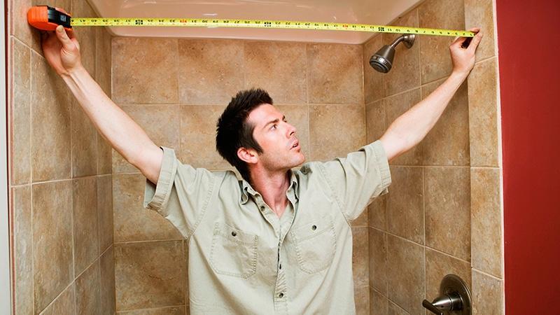 Сделать стену в ванной