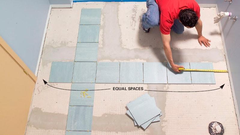 Как рассчитать плитку для ванны правильно