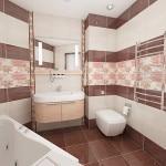 Керамическая плитка в ванную комнату