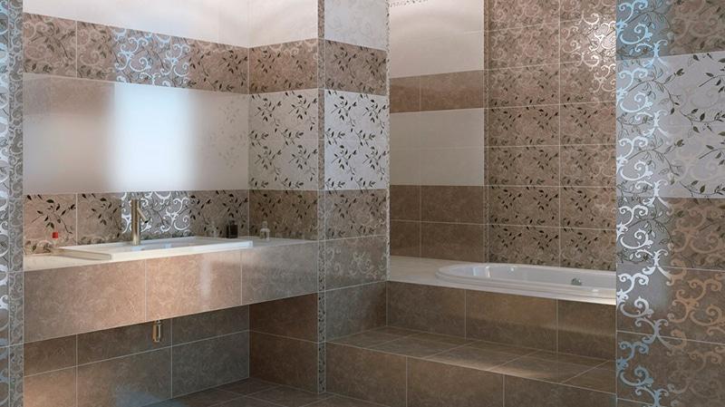 Коллекция плитки в ванную комнату