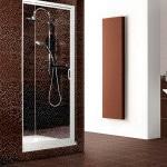 Коричневая плитка в ванной комнате