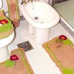 Клврики в ванную