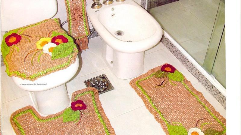 Коврики в ванную комнату своими руками фото 150