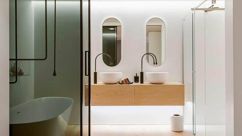 Стильный дизайн ванной