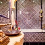 Марокканский стиль в интерьере ванной