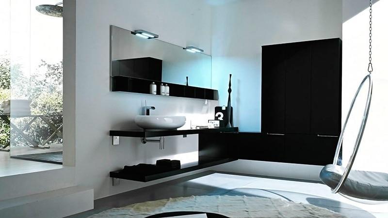 Красивый дизайн интерьера ванной